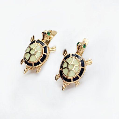 Золоті сережки черепахи