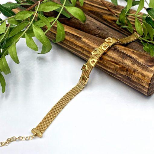 золотий браслет