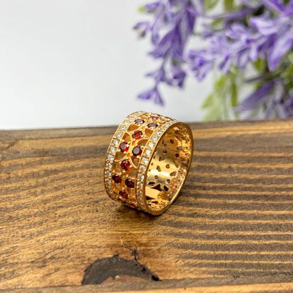 золотий перстень вишиванка