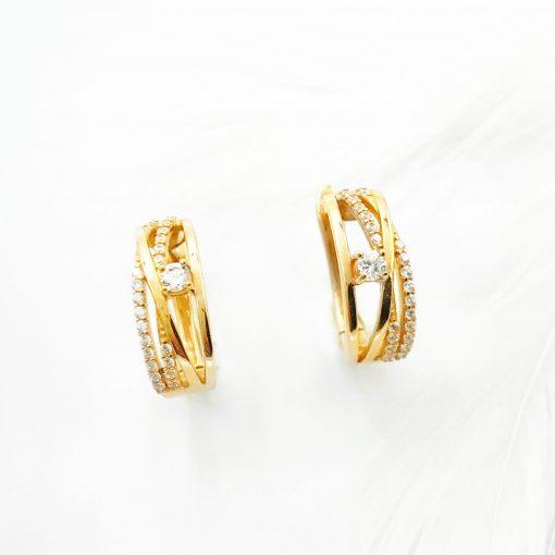 Золоті сережки