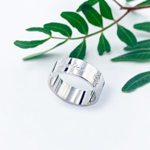 золотий перстень біле золото